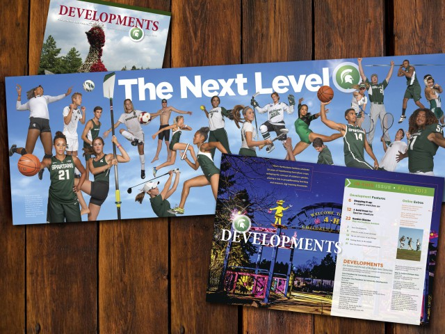 Developments Magazine Spread