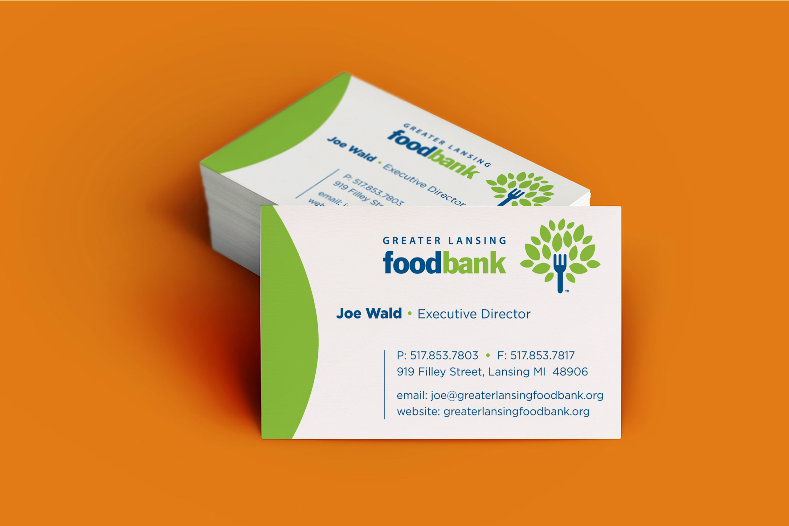 GLFB Business Cards - Blohm Creative Partners