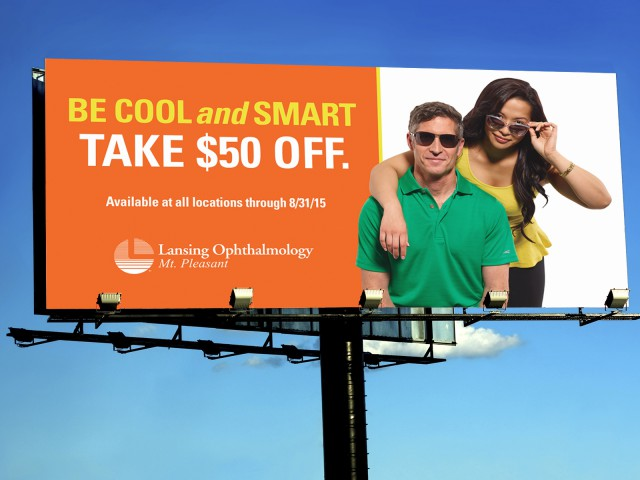Lansing Ophthalmology Billboard