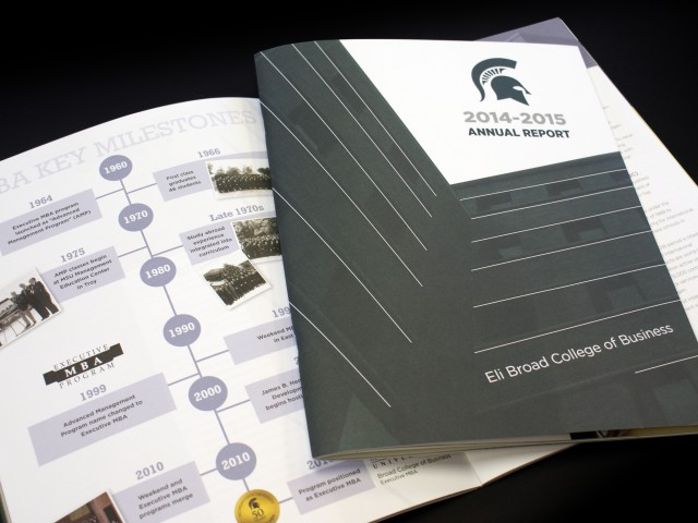 MSU Broad Annual Report Cover