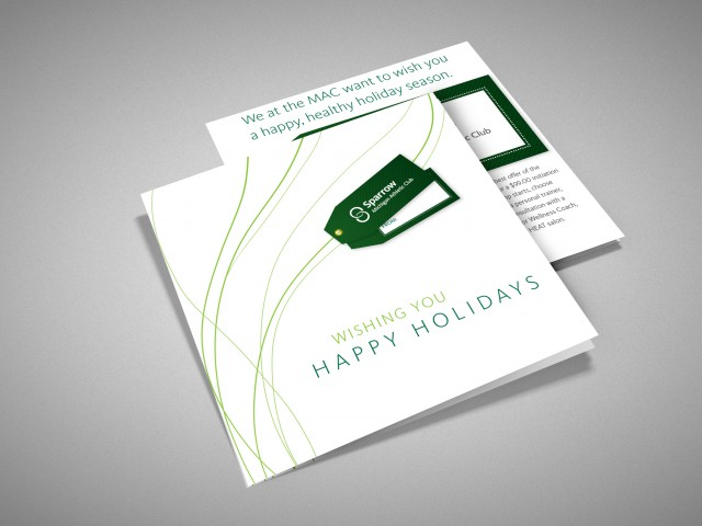 Sparrow Mac Holiday Card